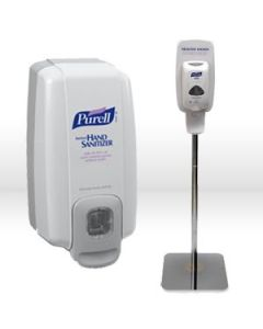 Polished Chrome Purell Sanitising Station (Use with TFX & LTX)