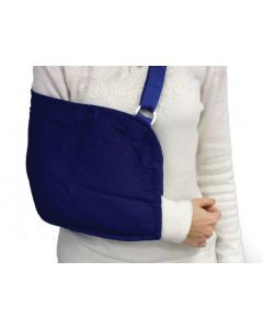 Light Blue Pouch Arm Sling