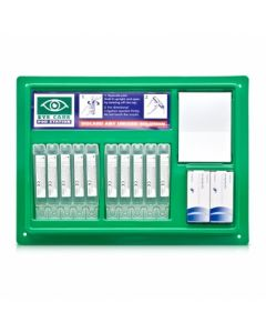 Eye Wash Station w/ mirror and 20ml Pods