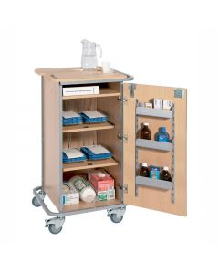 Monitored dosage system (MDS) trolley - small 4 racks