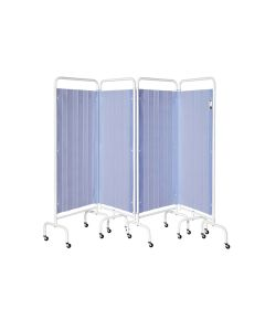 4 Panel Mobile Folding Curtain Screen