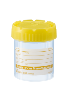 70ml Container with label and screw cap PP (500)