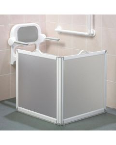 2 / 3 Panel Portable Shower Screen with Handles