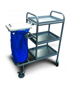 MRSA Resistance Coated Bed Changing Trolley