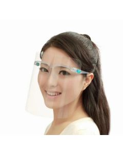 PVC Visor / Face Shield with Glasses (50)