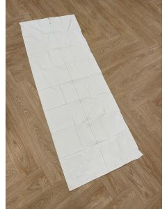 Body Bag PVC - White - Without Handles - Load 150 kg