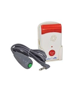Caregiver Alert Fall Alarm Monitor with Universal Nurse Call Button