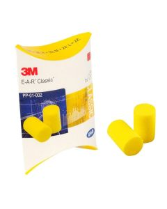 3M E.A.R Classic Uncorded Disposable Ear Plugs (250 Pairs)