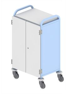 Case Notes Trolley, Eight Removable Shelves