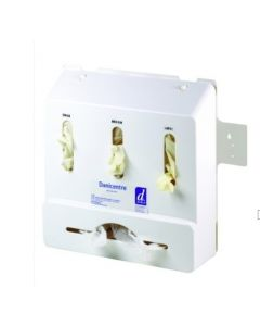 Danicentre Glove and Apron Dispenser with Backplate