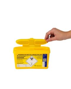 Daniels Sharpsguard Yellow Container 1L