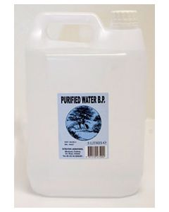 Ultra Pure Purified Water 5L