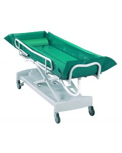 Adjustable Hydraulic Bed Bath Trolley