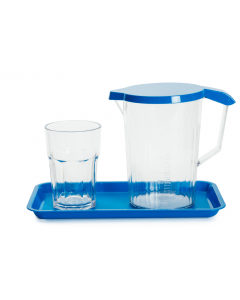 Harfield Jug, Tumbler and Platter - Locker Set