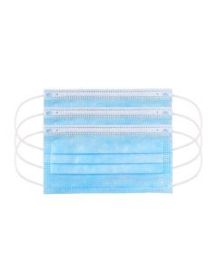 3 Ply MRI Safe Surgical Face Mask Blue with Loops - Type IIR (50)