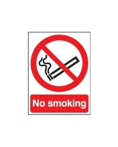 No Smoking Sign - Vinyl - 210 x 148