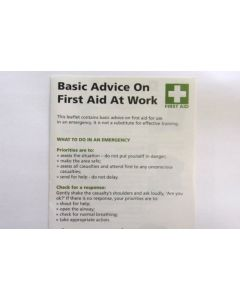 First Aid Guide Leaflet