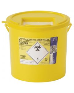 Daniels SHARPSGUARD Yellow Container 11.5L