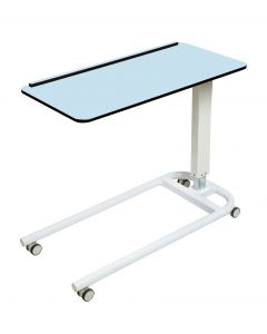 Astro Over Bed Table with Flat Top and One Lip