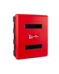 Double Fire Extinguisher Cabinet with Window and Door