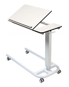 Astro Over Bed Table with Tilting Top and One Retaining Lip