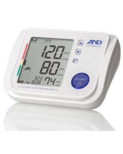 A&D Medical UA-1020 Upper Arm Blood Pressure Monitor with Atrial Fibrillation Screening and Accessories