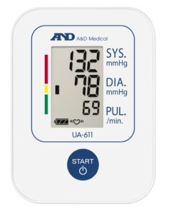 A&D Medical UA-651 Upper Arm Blood Pressure Monitor and Accessories