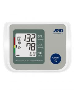 A&D Medical UA-767S-W Upper Arm Blood Pressure Monitor with Atrial Fibrillation Screening