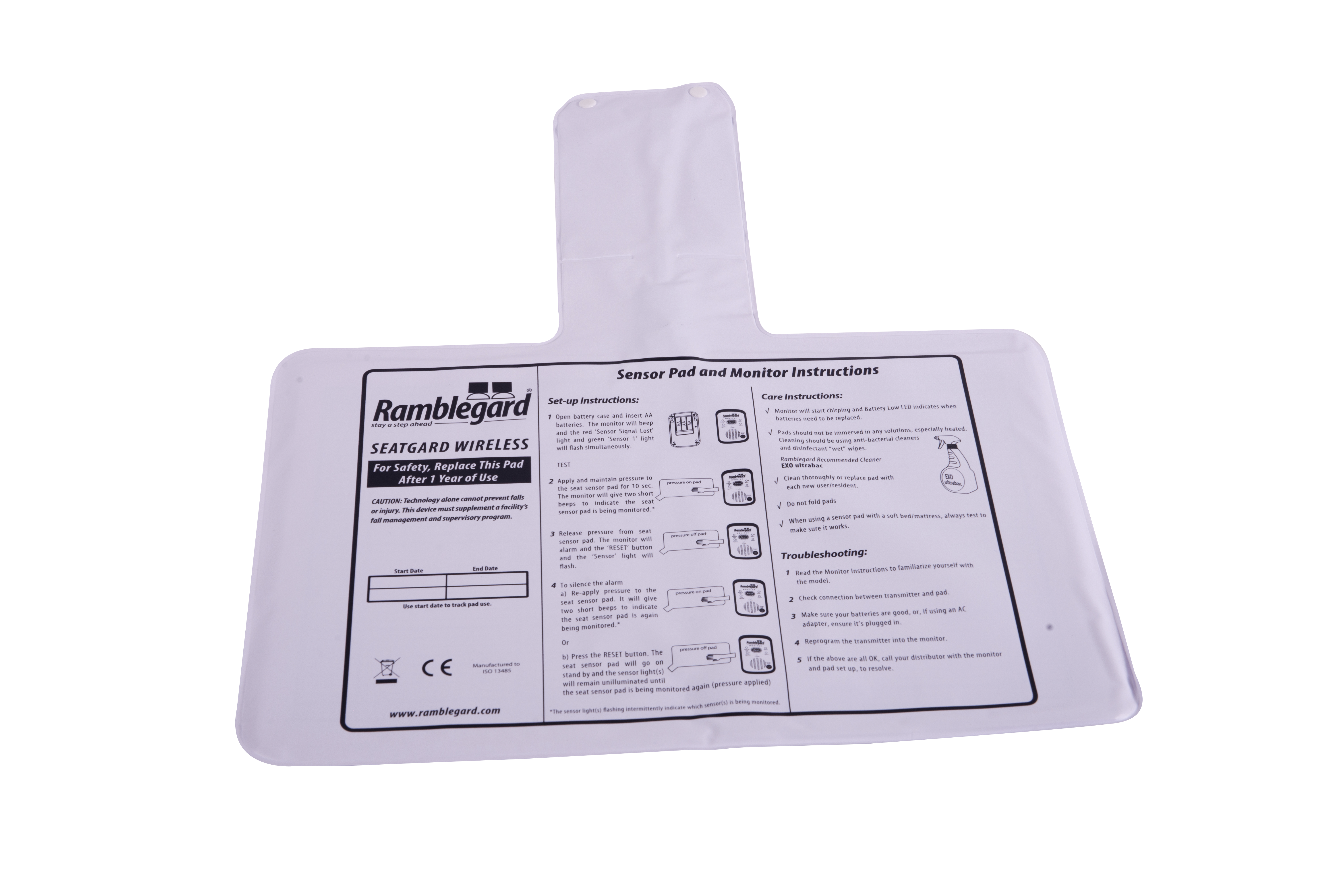 Ramblegard Wireless Seatgard Mat Only (Code: R09-0019)